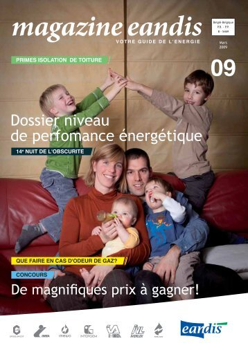Magazine Eandis 09 - Mars 2009