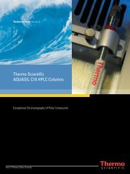 Thermo Scientific AQUASIL C18 HPLC Columns - Hplc.eu