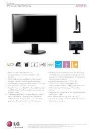 Monitore TFTMonitorFLATRONwide E2210P-SN