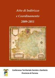 copertina libro - Azienda USL di Ferrara