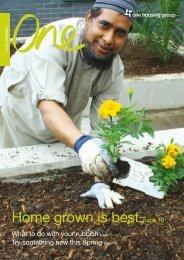 Spring 2011 resident newsletter - One Housing Group