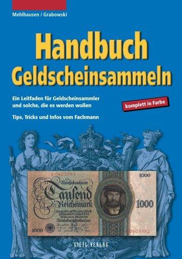 Handbuch Geldscheinsammeln - Gietl Verlag