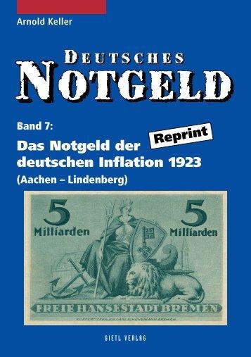 Deutsches Notgeld Band 7 - Gietl Verlag