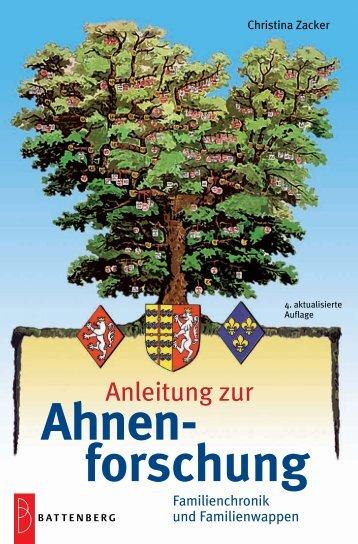 Ahnenforschung, 4. Auflage - Gietl Verlag