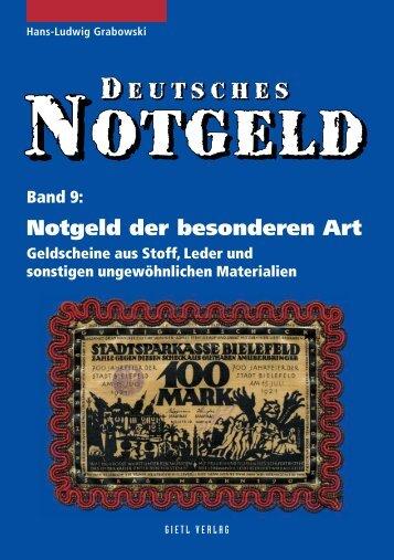 Notgeld der besonderen Art - Gietl Verlag