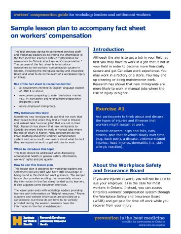 Sample Fact Sheets