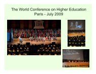 Internationalizing Quality Assurance: A New Dynamic for Higher ...