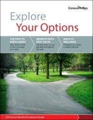 2013 Annual Benefits Enrollment Guide - ConocoPhillips