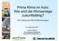 Prima Klima im Auto: Wie wird die Klimaanlage zukunftsfähig?