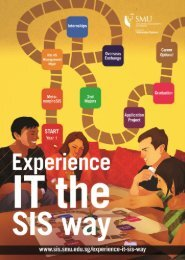 Academic Brochure 2013 - School of Information Systems