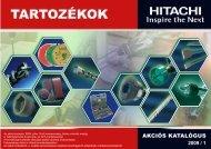 Hitachi tartozék akciós katalógus 2009.