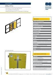Produktinformation - Maschinen-Elektronik GmbH