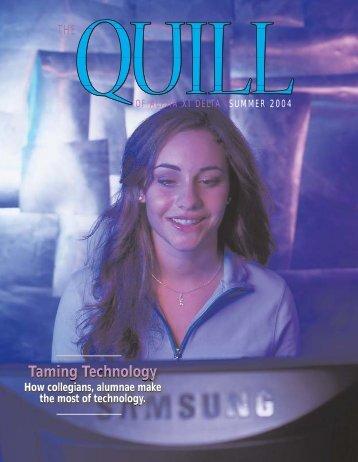 Quill summer 04 - Alpha Xi Delta