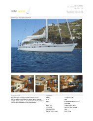 trintella 75 ocean cruiser description general - McDell Yachting