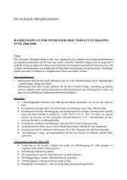 Handlingsplan 2006-2008 siste - Det teologiske Menighetsfakultetet