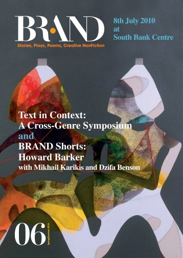 Text in Context - BRAND Literary Magazine