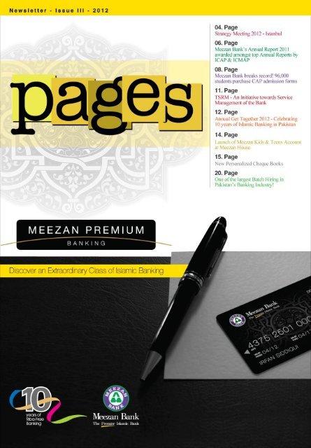 Issue III - Meezan Bank