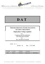 Troubleshooting Guide DAT single GUI-L13-UK ... - OVH.net