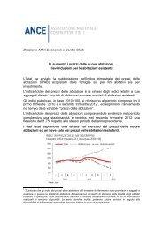 Direzione Affari Economici e Centro Studi In aumento i ... - Aspesi