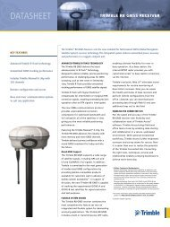 DATASHEET TRIMBLE R8 GNSS SYSTEM - Advanced Geodetic