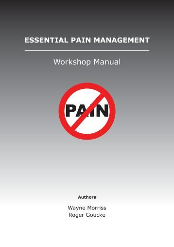 Workshop Manual - Faculty of pain medicine - Australian and New ...