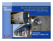 North Shore Connector North Shore Connector - APC/PennDOT Fall ...