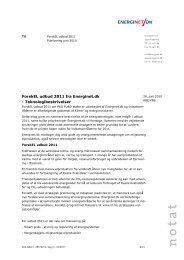 ForskEL udbud 2011 fra Energinet.dk - Teknologibeskrivelser