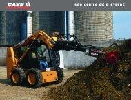 400 SERIES SKID STEERS - Centre Agricole.ca