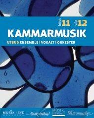 Kammarmusik 2011-2012 - Region Halland