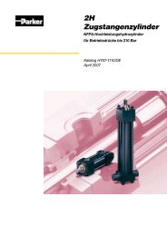 2H – Hydraulikzylinder - Siebert Hydraulik & Pneumatik