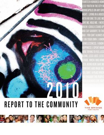 The Bridge for Youth Annual Report 2010
