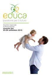 alcune immagini e parole di EDUCA 2010