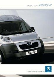 40289 Boxer spec.indd - Peugeot