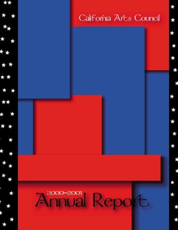 2000-2001 - California Arts Council