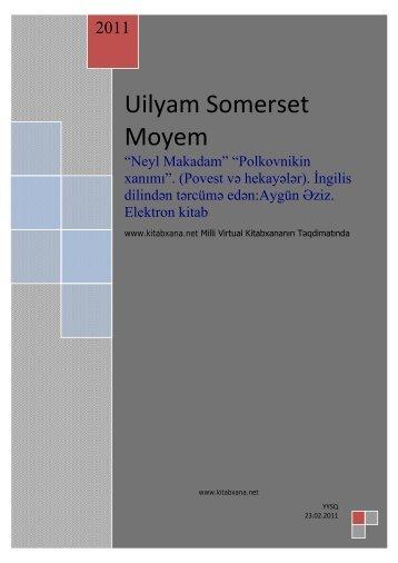 Uilyam Somerset Moyem - Kitabxana