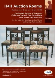 click here - H&H Auction Rooms