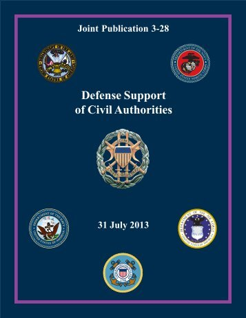 JP 3-28, Defense Support of Civil Authorities, 31 July 2013