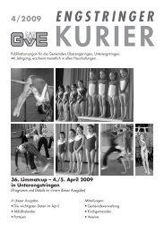04/09 - Engstringer Kuriers