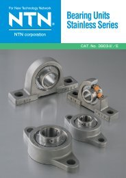 Bearing Units Stainless Series - NTN
