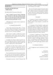 Piani di Indirizzo Generale Integrato 2006-2001 - comunitaeducative.it