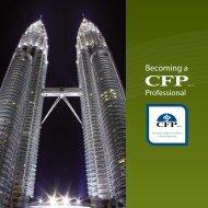 CFP Brochure - Financial Planning Association of Malaysia