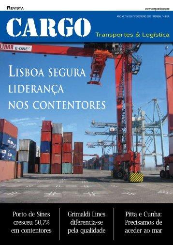 revista lisboa segura liderança nos contentores - Cargo