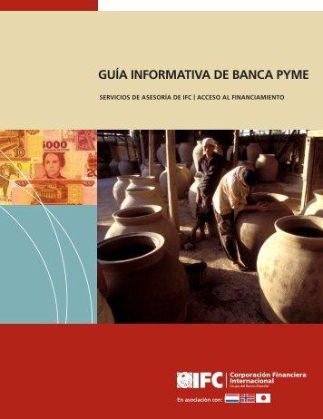GUÍA INFORMATIVA DE BANCA PYME - IFC