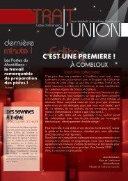 trait-union n°1 - Mairie de Combloux