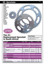Vortex 630K-51 Silver 51-Tooth Rear Sprocket