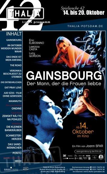 GAINSBOURG - Thalia Kino