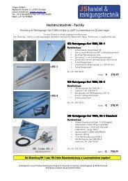 Reinigungs-Set Lüftung Klima - JS Handel & Reinigungstechnik