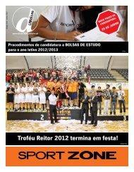 Troféu Reitor 2012 termina em festa! - UMdicas - Universidade do ...