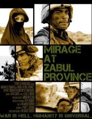 Mirage at Zabul Province Press Kit (PDF)