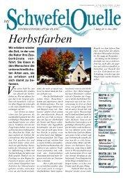 Schwefelquelle Nr. 6, November 2002 (1,5 MByte